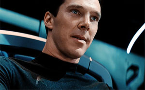 Star Trek Alem da Escuridao - Cumberbatch