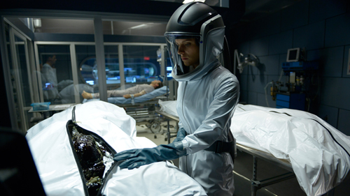 """HELIX -- """"Pilot"""" Episode 101 -- Pictured: -- (Photo by: Philippe Bosse/Syfy"""