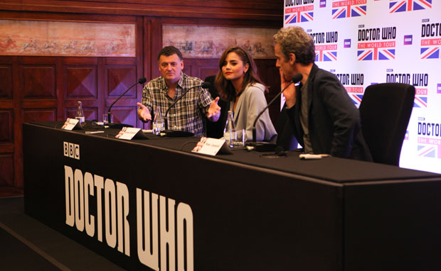 Coletiva Doctor Who