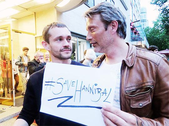 Hugh Dancy e Mads Mikkelsen